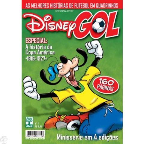 Disney Gol nº 001 mai/2011 - Inclui texto A História da Copa América 1916-1927