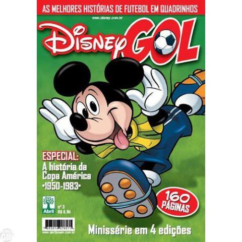 Disney Gol nº 003 jun/2011 - História da Copa América 1950-1983