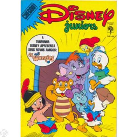 Disney Juniors nº 001 ago/1986 - Caçadores de Cavernas - Vide detalhes