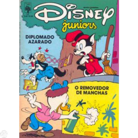 Disney Juniors nº 017 jun/1987 - Diploma Azarado