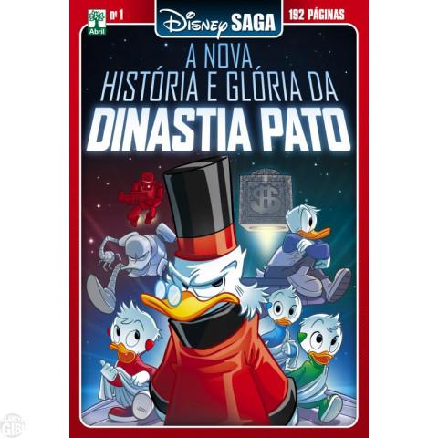Disney Saga nº 001 fev/2018 - A Nova História e Glória da Dinastia Pato
