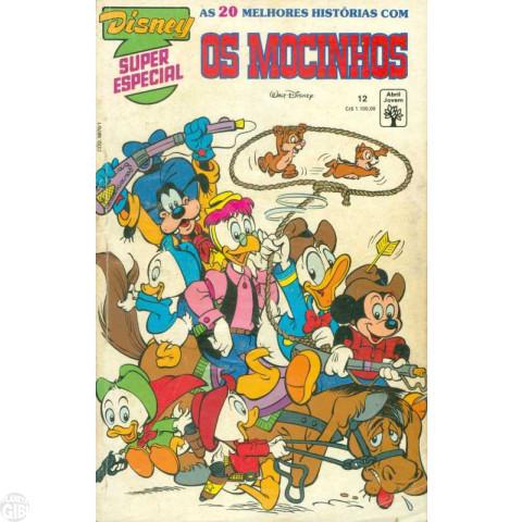 Disney Superespecial nº 012 nov/1991 - Os Mocinhos - Com Hqs de Carl Barks - Vide detalhes