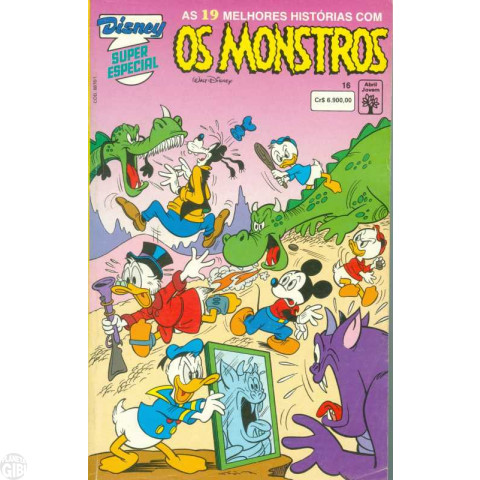 Disney Superespecial nº 016 jul/1992 - Os Monstros