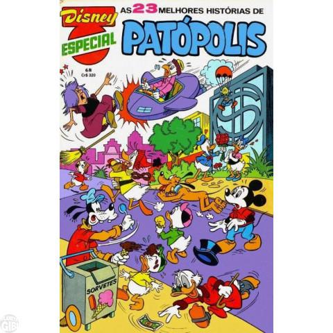 Disney Especial nº 068 dez/1982 - Patópolis