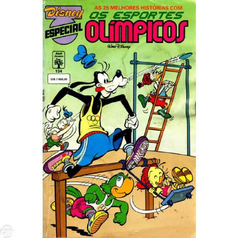Disney Especial nº 134 jul/1992 - Os Esportes Olímpicos
