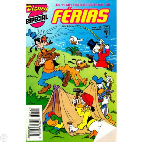 Disney Especial nº 141 jan/1994 - Férias
