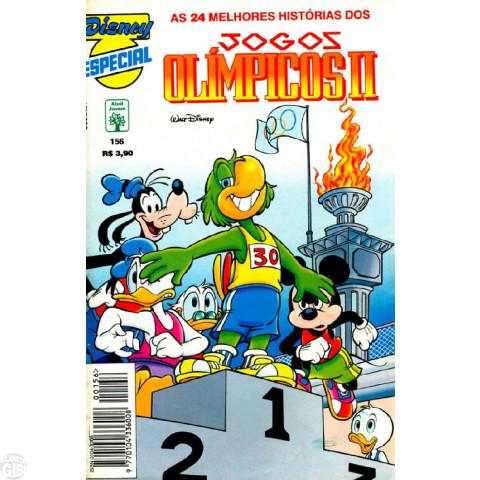 Disney Especial nº 156 jul/1996 - Jogos Olímpicos II