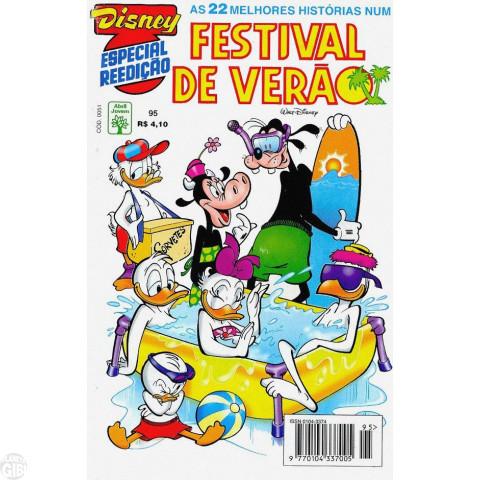 Disney Especial Reedição nº 095 dez/1996 - Festival de Verão