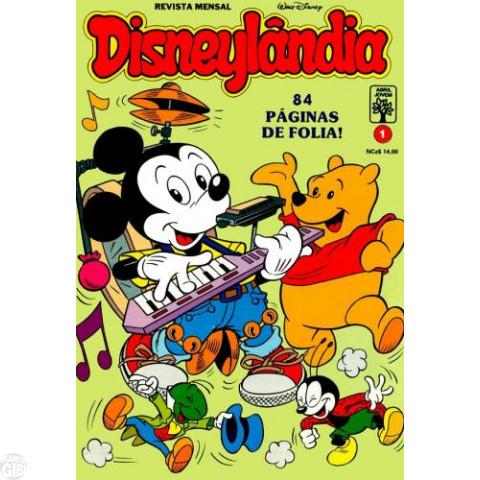 Disneylândia [2ª série] nº 001 jan/1990 - O Golpe do Macaco