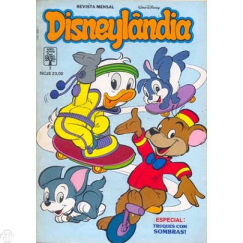 Disneylândia [2ª série] nº 002 fev/1990 - Os Nove Desejos
