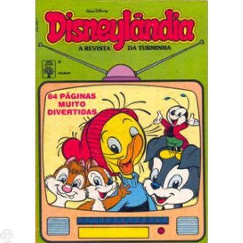 Disneylândia [2ª série] nº 008 out/1990 - O Vilão dos Desenhos Animados