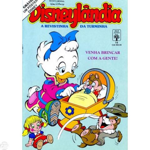 Disneylândia [2ª série] nº 019 set/1991 - Garnizé, o Gozador