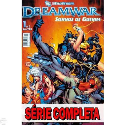 Dreamwar - Sonhos de Guerra - Minissérie - Completa (3 volumes) 2010
