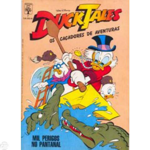 DuckTales nº 007 set/1988 - O Holandês Voador - Carl Barks