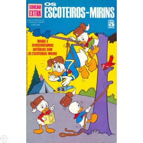 Edição Extra nº 065 jun/1975 - Os Escoteiros Mirins - Vide detalhes