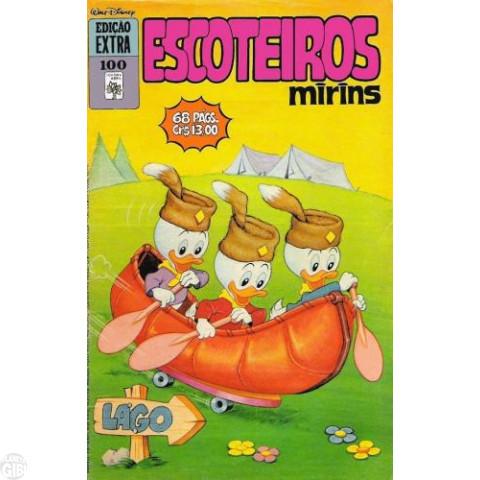 Edição Extra nº 100 out/1979 - Escoteiros Mirins - Vide detalhes