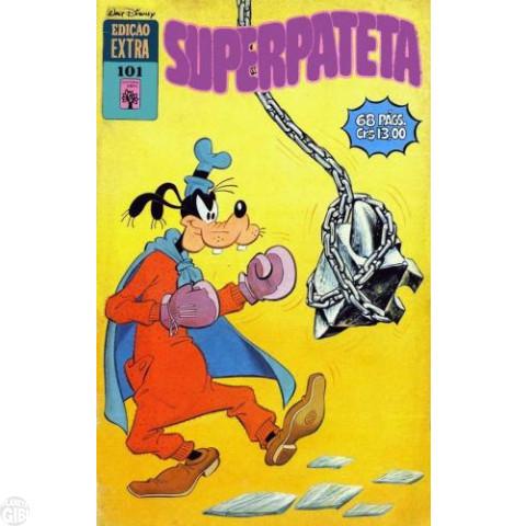 Edição Extra nº 101 nov/1979 - Superpateta