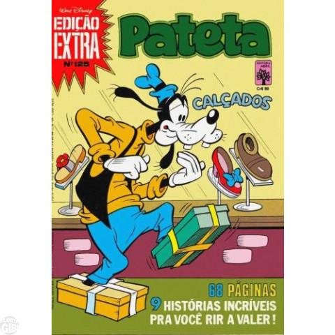 Edição Extra nº 125 jan/1982 - Pateta - Vide detalhes