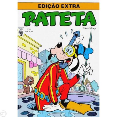 Edição Extra nº 175 ago/1987 - Pateta - A Abominável Tia Giselda