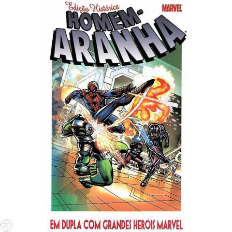 Edição Histórica Homem-Aranha [Mythos] nº 001 mar/2004 - Em Dupla com Grandes Heróis Marvel