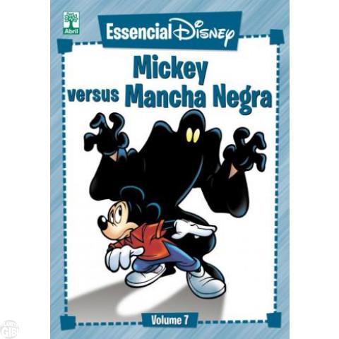 Essencial Disney nº 007 abr/2012 - Mickey Versus Mancha Negra - Casty