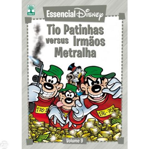 Essencial Disney nº 009 abr/2012 - Tio Patinhas Versus Irmãos Metralha