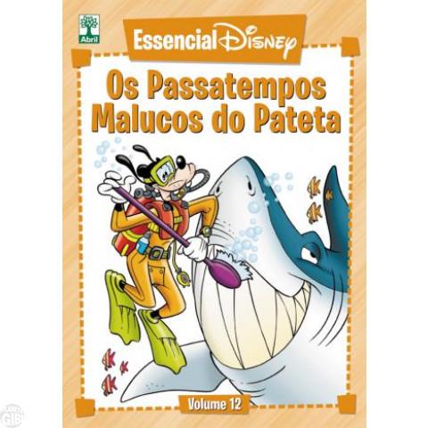 Essencial Disney nº 012 mai/2012 - Os Passatempos Malucos do Pateta