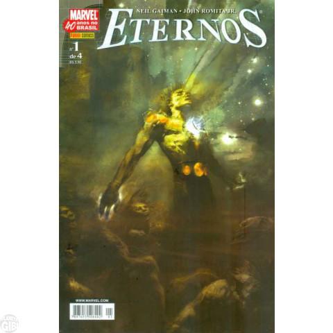 Eternos [Panini - Minissérie] nº 001 a 004 set-dez/2007 - Minissérie Completa