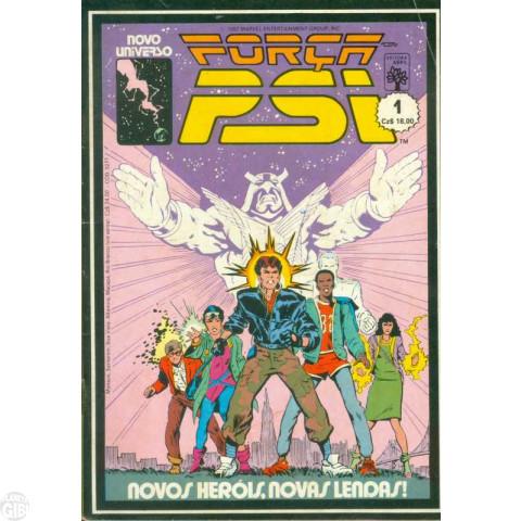 Força Psi [Abril] nº 001 jul/1987 - Novos Heróis, Novas Lendas!