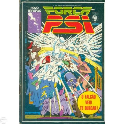 Força Psi [Abril] nº 004 out/1987 - O Falcão Veio Te Buscar!