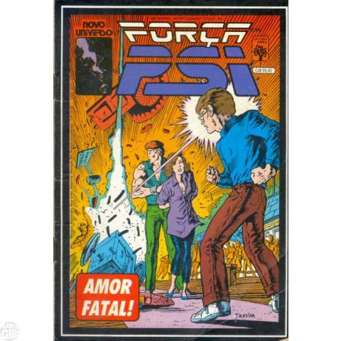 Força Psi [Abril] nº 007 jan/1988 - Amor Faltal!