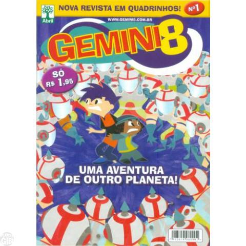 Gemini 8 nº 001 - Edição Rara Recolhida - out/2011