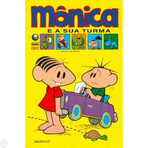 Mônica e Sua Turma [Globo]  jan/2002 - Fac-Símile do nº 1 - Edição Histórica