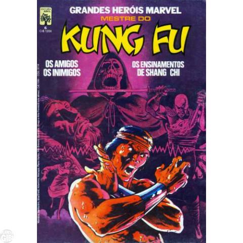 Grandes Heróis Marvel [Abril - 1ª série] nº 006 nov/1984 - Mestre do Kung Fu - Vide detalhes