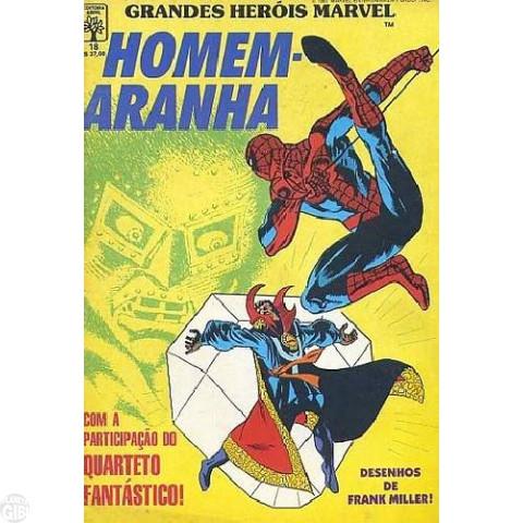 Grandes Heróis Marvel [Abril - 1ª série] nº 018 dez/1987 - Homem-Aranha