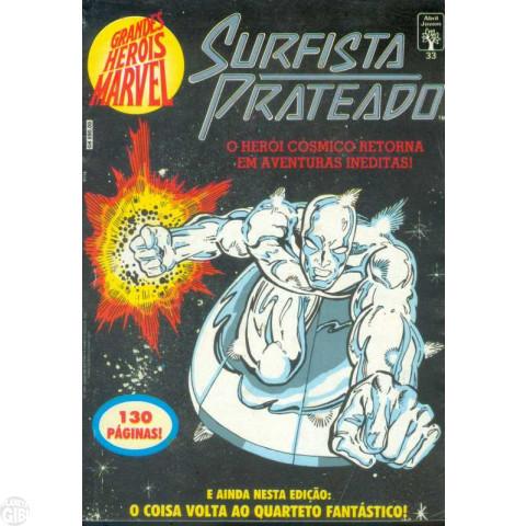 Grandes Heróis Marvel [Abril - 1ª série] nº 033 set/1991 - Surfista Prateado