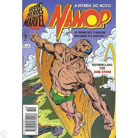 Grandes Heróis Marvel [Abril - 1ª série] nº 042 dez/1993 - A Estréia do Novo Namor