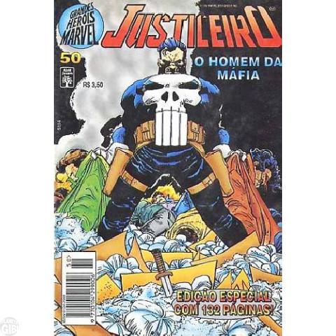 Grandes Heróis Marvel [Abril - 1ª série] nº 050 dez/1995 - Justiceiro