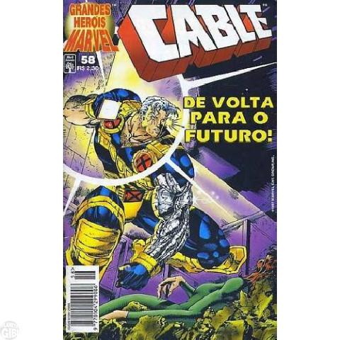 Grandes Heróis Marvel [Abril - 1ª série] nº 058 dez/1997 - Cable