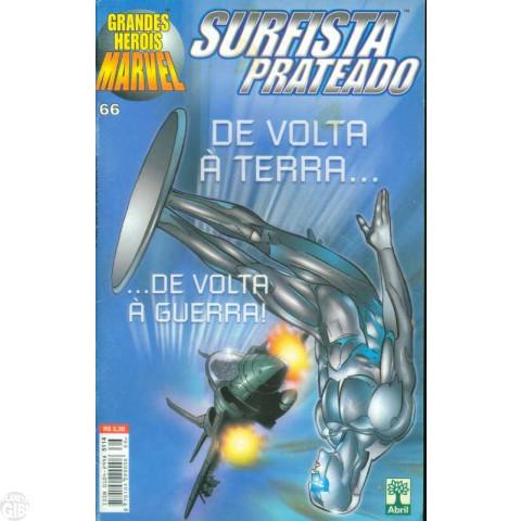 Grandes Heróis Marvel [Abril - 1ª série] nº 066 dez/1999 - Surfista Prateado - Última Edição Desta Série