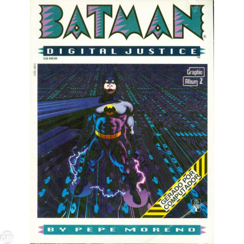 Graphic Álbum [Abril] nº 002 out/1990 - Batman: Digital Justice