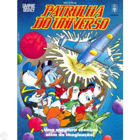 Graphic Disney nº 001 abr/1991 - Patrulha do Universo - Vide Detalhes