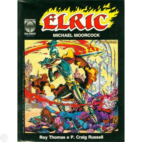 Graphic Globo nº 004 jan/1990 - Elric: A Cidade dos Sonhos - de Michael Moorcock
