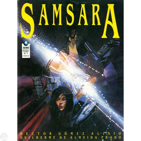 Graphic Globo nº 007 abr/1991 - Samsara