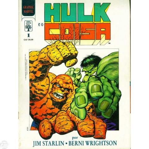 Graphic Marvel [Abril] nº 001 mai/1990 - Hulk e o Coisa: A Grande Mudança