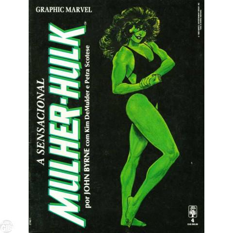 Graphic Marvel [Abril] nº 004 nov/1990 - A Sensacional Mulher-Hulk