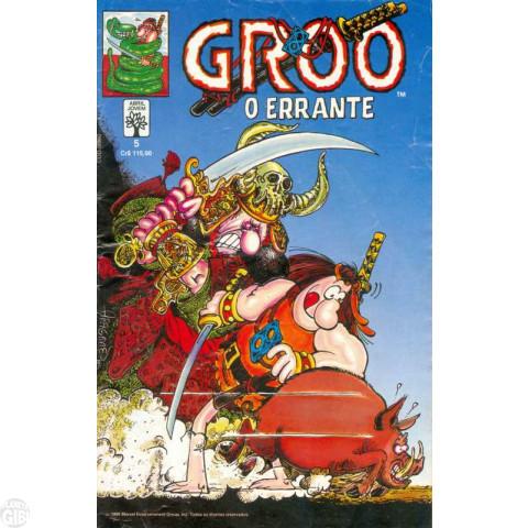 Groo O Errante [Abril] nº 005 set/1990