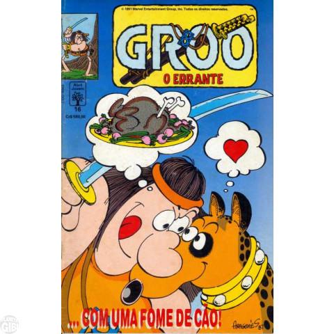 Groo O Errante [Abril] nº 016 ago/1991