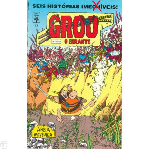 Groo O Errante [Abril] nº 027 jul/1992 - Última Edição Desta Série