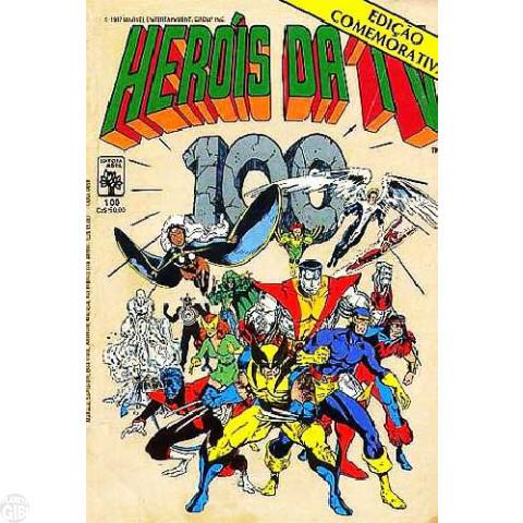 Heróis da TV [Abril - Marvel] nº 100 out/1987 - Edição Comemorativa